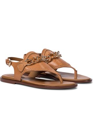 Chloé Mahe leather thong sandals