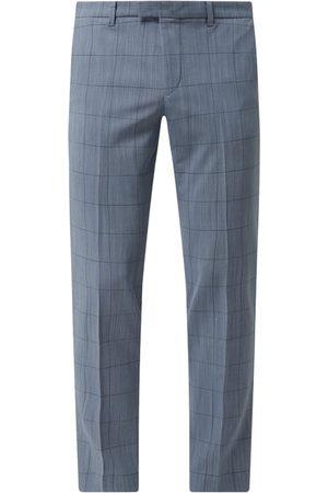 Drykorn Mężczyzna Spodnie eleganckie - Spodnie do garnituru o kroju slim fit z dodatkiem wełny model 'Piet'
