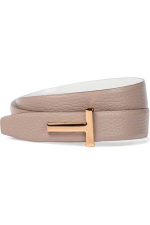 adidas Monogram leather belt