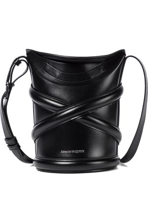 adidas Curve Small leather bucket bag