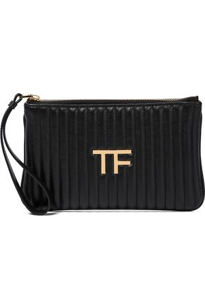 adidas TF quilted leather clutch