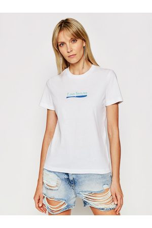 Lee T-Shirt Logo L44NEPLJ Slim Fit