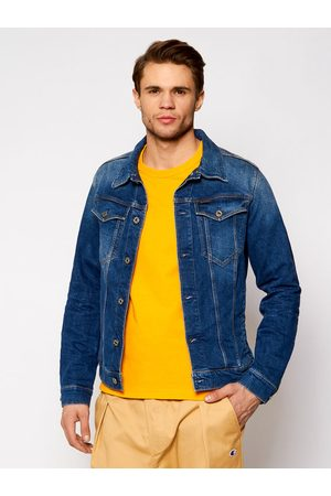 adidas Kurtka jeansowa 3301 D11150-C052-A951 Granatowy Slim Fit