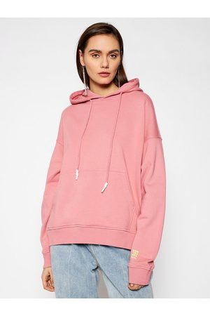 ONE TEASPOON Bluza Smiley Face Batwing Hoody 23944 Regular Fit