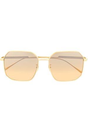 Bottega Veneta Eyewear Gold