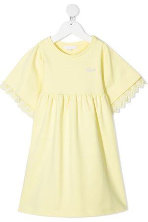 Chloé Dziewczynka Sukienki dzienne - Yellow