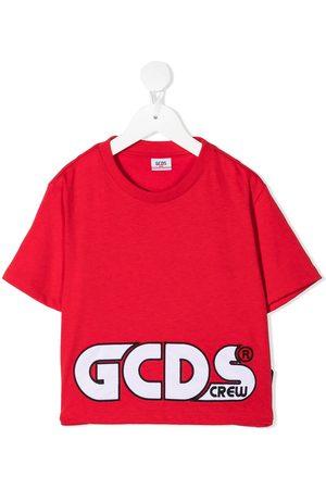GCDS Dziewczynka Z krótkim rękawem - Red