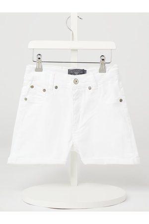 Blue Effect Szorty jeansowe z wysokim stanem z dodatkiem streczu