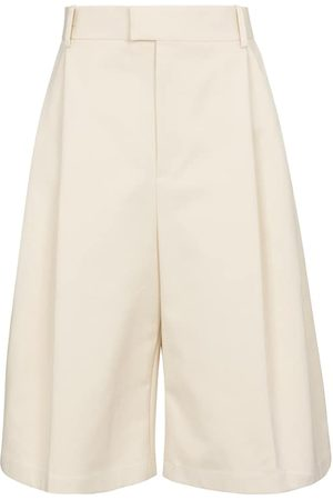 Bottega Veneta Kobieta Bermudy - Cotton Bermuda shorts