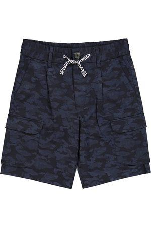 Emporio Armani Chłopiec Szorty - Camouflage track shorts