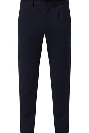 Selected Spodnie z zakładkami z dodatkiem streczu