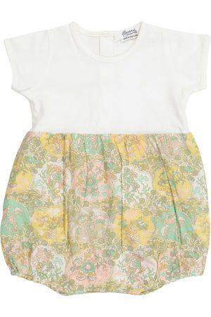 BONPOINT Body i Śpioszki - Baby Liberty floral cotton bodysuit