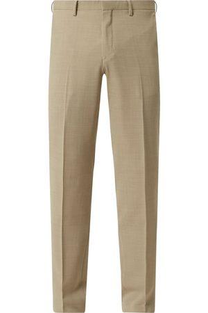 Tiger of Sweden Spodnie do garnituru o kroju slim fit z dodatkiem wełny model 'Thodd'