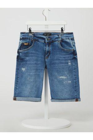 Blue Effect Szorty jeansowe o kroju regular fit z dodatkiem streczu