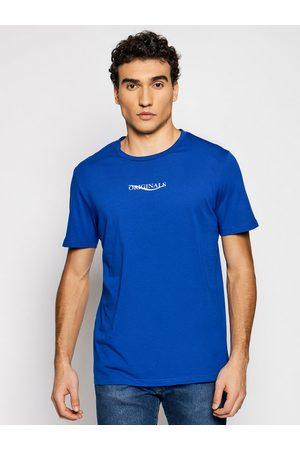 Jack & Jones T-Shirt Elias 12195572 Granatowy Regular Fit