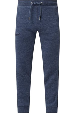 Superdry Mężczyzna Spodnie dresowe - Spodnie dresowe z mieszanki bawełny