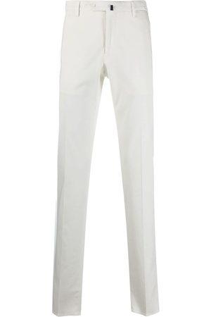 Incotex Mężczyzna Spodnie eleganckie - White