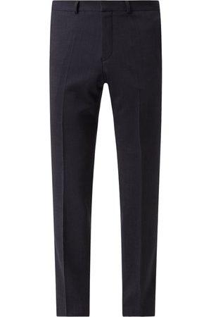 s.Oliver Mężczyzna Spodnie eleganckie - Spodnie do garnituru o kroju slim fit z dodatkiem streczu model 'S.Oultimate'