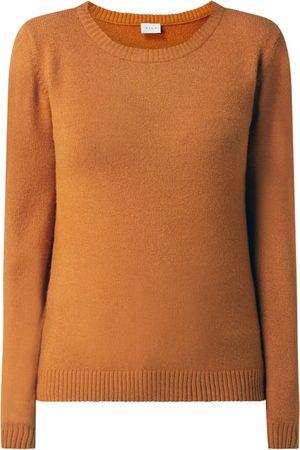 VILA Kobieta Swetry i Pulowery - Sweter z mieszanki wiskozy model 'Ril'