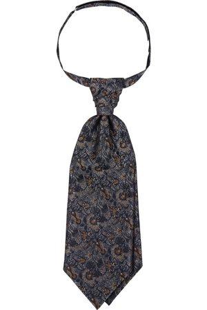 Wilvorst Mężczyzna Krawaty - Plastron i poszetka z kwiatowym wzorem