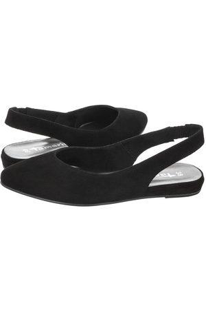 Tamaris Kobieta Sandały - Sandały Czarne 1-29406-26 001 Black (TM307-b)