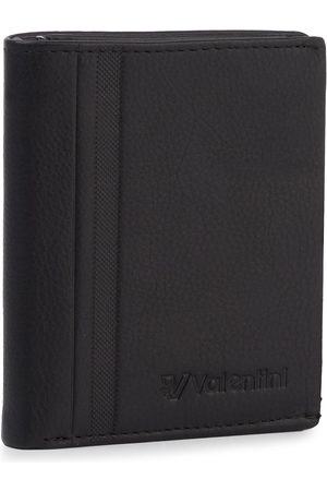 VALENTINI Mężczyzna Portmonetki i Portfele - Duży Portfel Męski - 001-015V0-0213-01 Black