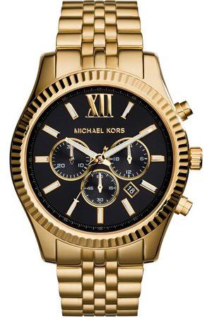 Michael Kors Mężczyzna Zegarki - Zegarek - Lexington MK8286 Gold/Gold