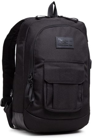 Pepe Jeans Plecak - Adapt. Laptop Tablet Backpack Pjl Denton 7172821 Black