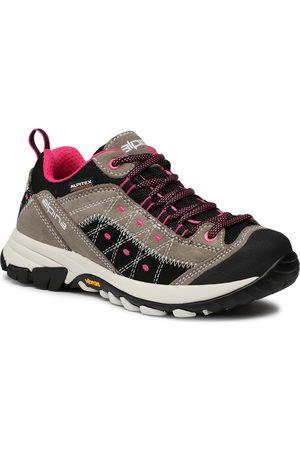 Alpina Kobieta Buty trekkingowe - Trekkingi - Glacia 633R-1 Gray/Black