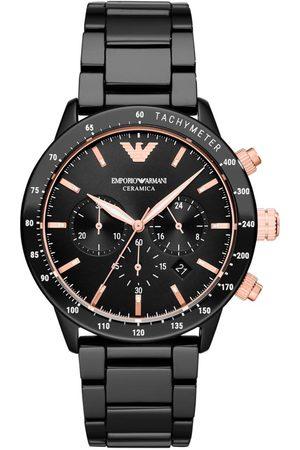 Armani Mężczyzna Zegarki - Zegarek - Mario AR70002 Black