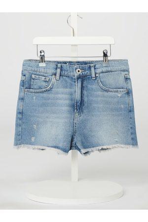 Pepe Jeans Dziewczynka Bermudy - Szorty jeansowe z bawełny model 'Patty'