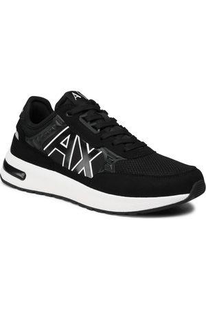 Armani Sneakersy - XUX090 XV276 00002 Black