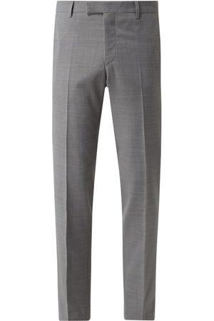 Pierre Cardin Mężczyzna Spodnie eleganckie - Spodnie do garnituru o kroju slim fit z dodatkiem żywej wełny model 'Dupont' — 'Futureflex'