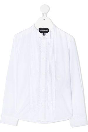 Emporio Armani Chłopiec Koszule - White