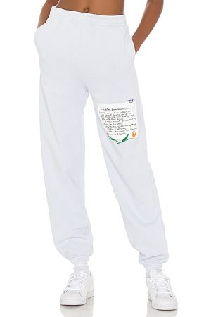 Boys Lie What Is True Love Sweatpant in - Baby Blue. Size L (also in S, M).
