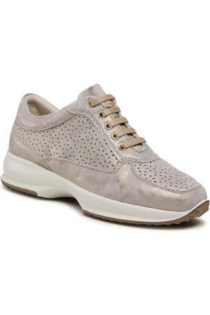 IMAC Kobieta Buty casual - Sneakersy - 706710 Taupe/Beige 5597/013