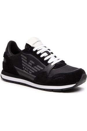 Emporio Armani Sneakersy - X4X537 XM678 N639 Blk/Blk/Blk/Blk/Blk