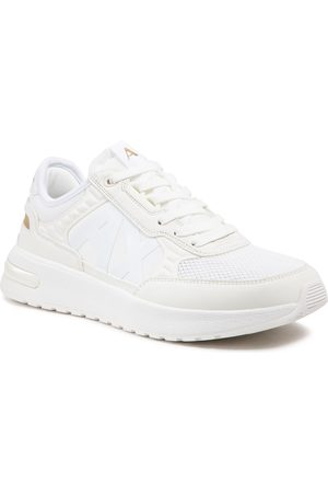 Armani Mężczyzna Buty casual - Sneakersy - XUX090 XV276 00894 Off White