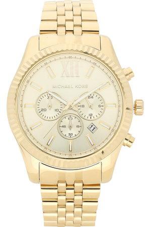 Michael Kors Mężczyzna Zegarki - Zegarek - Lexington MK8281 Gold/Gold