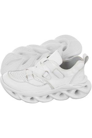 Maciejka Kobieta Sneakersy - Sneakersy Białe 04978-11/00-5 (MA694-b)