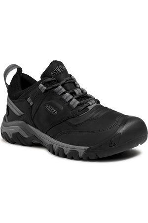Keen Mężczyzna Buty trekkingowe - Trekkingi - Ridge Flex Wp M 1024916 Black/Magnet