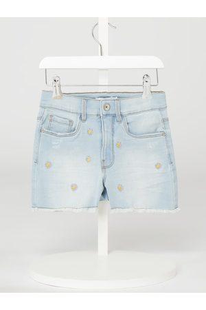 Name it Dziewczynka Bermudy - Szorty jeansowe z dodatkiem streczu model 'Becky'