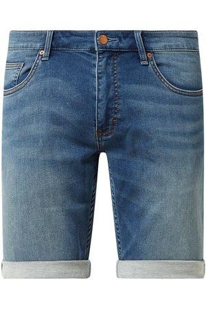 s.Oliver Szorty jeansowe o kroju regular fit z dodatkiem streczu model 'John'