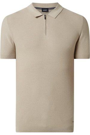 JOOP! Collection Koszulka polo z zamkiem błyskawicznym model 'Vance'