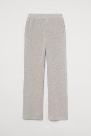 H&M Dzianinowe spodnie