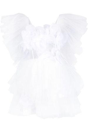 LOULOU Kobieta Sukienki koktajlowe i wieczorowe - White