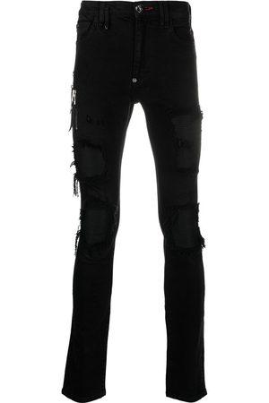Philipp Plein Mężczyzna Skinny - Black