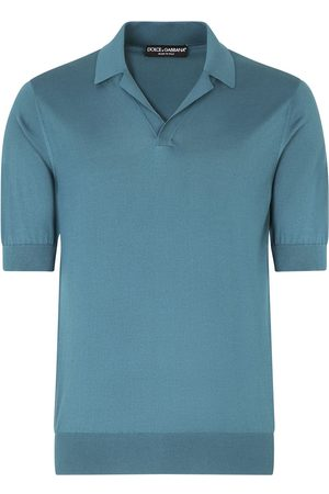 Dolce & Gabbana Mężczyzna Koszulki polo - Blue