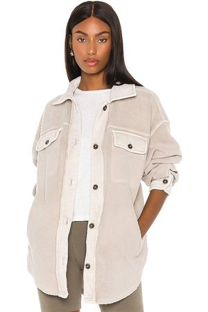 Free People Ruby Jacket in - Light Grey. Size L (also in M, S).