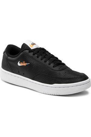 Nike Buty - Court Vintage Prm CW1067 002 Black/White/Total Orange